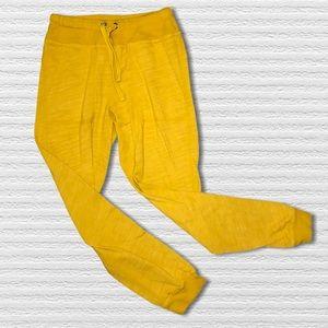 Civilianaire Golden Drawstring Cinched Sweatpants